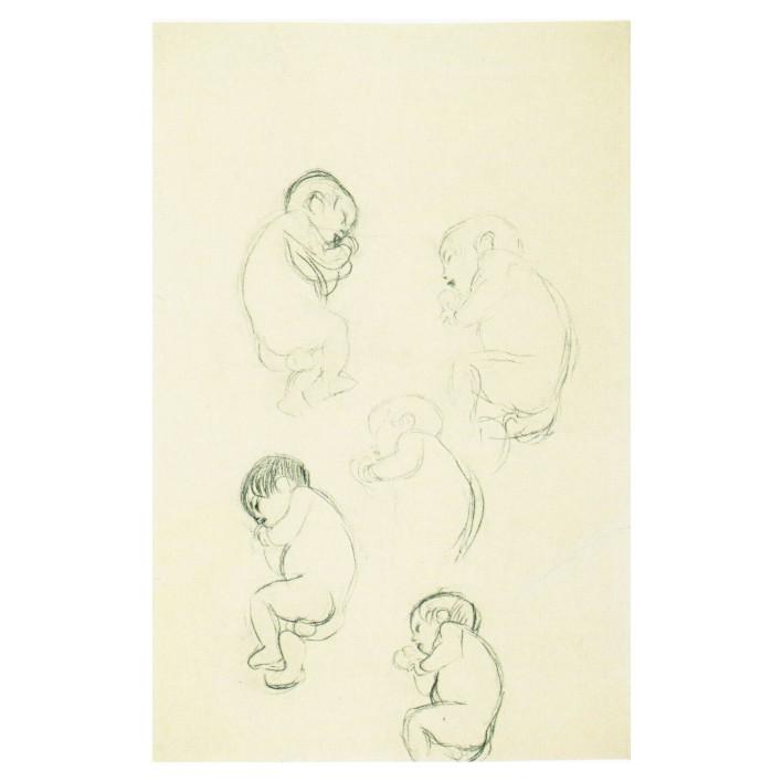 Густав Климт. Принт на картон #116