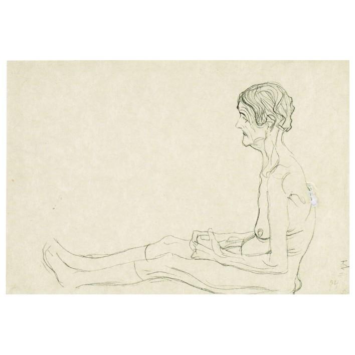 Густав Климт. Принт на картон #117