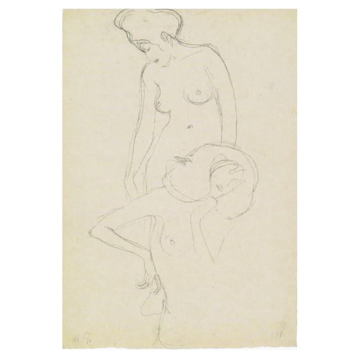Густав Климт. Принт на картон #118