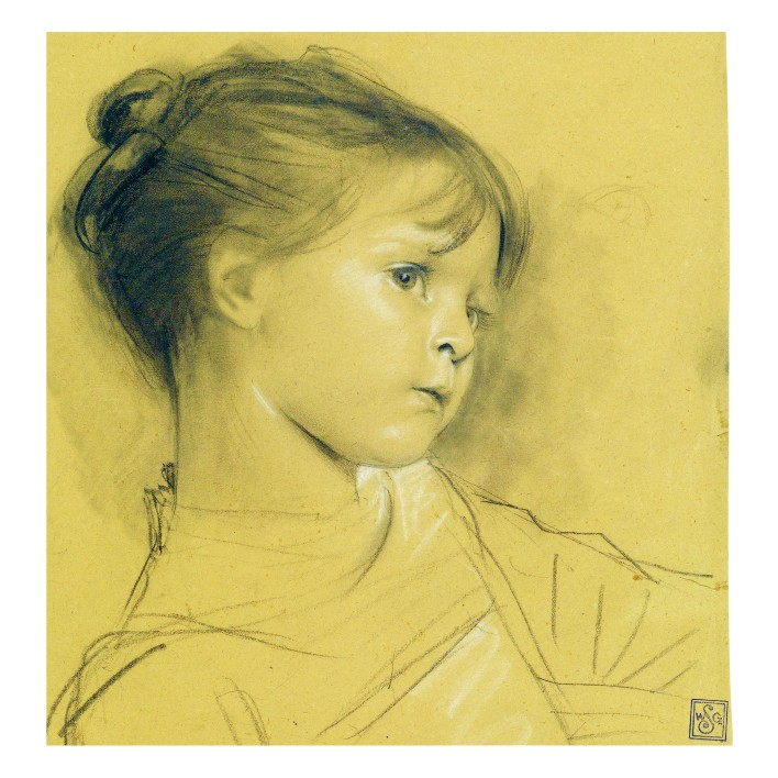 Густав Климт. Принт на картон #122
