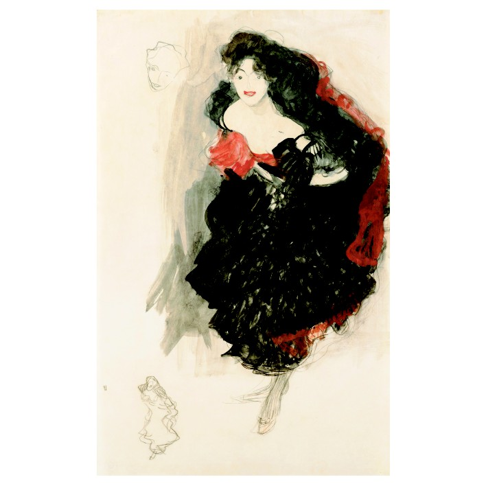 Густав Климт. Принт на картон #125