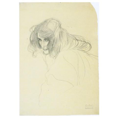 Густав Климт. Принт на картон #126