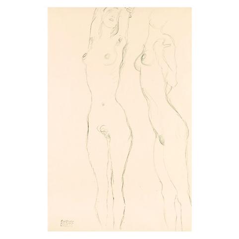 Густав Климт. Принт на картон #131