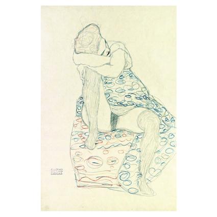 Густав Климт. Принт на картон #133