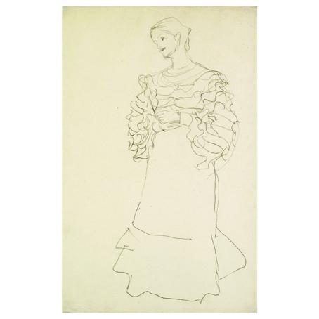 Густав Климт. Принт на картон #134