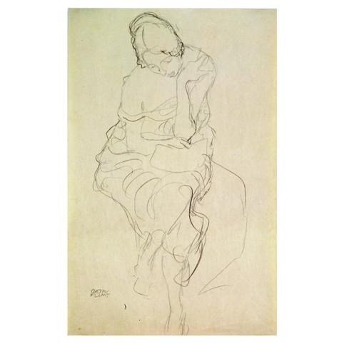 Густав Климт. Принт на картон #136