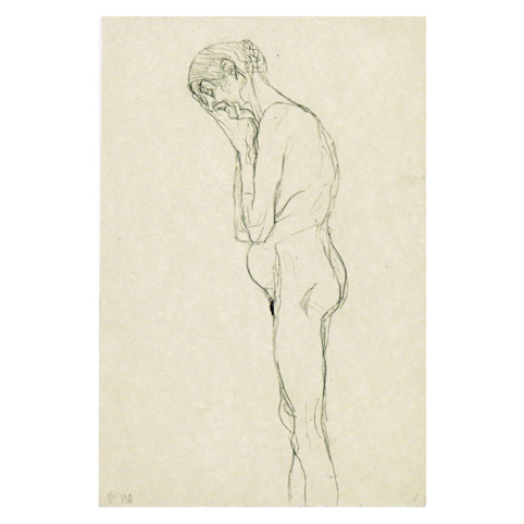 Густав Климт. Принт на картон #141