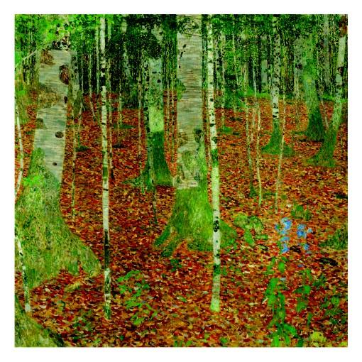 Густав Климт. Принт на картон #154