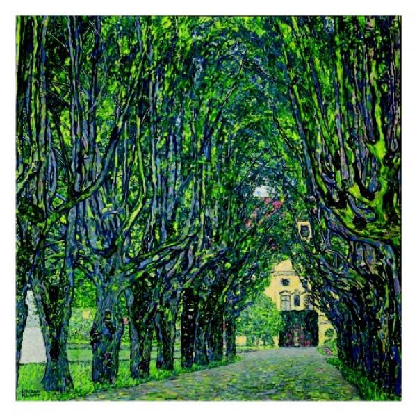160. 110х110. Паркова алея в замъка Камер