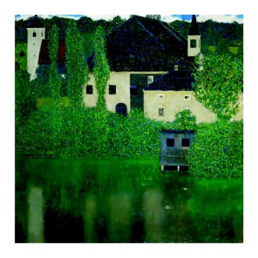 Густав Климт. Принт на картон #161