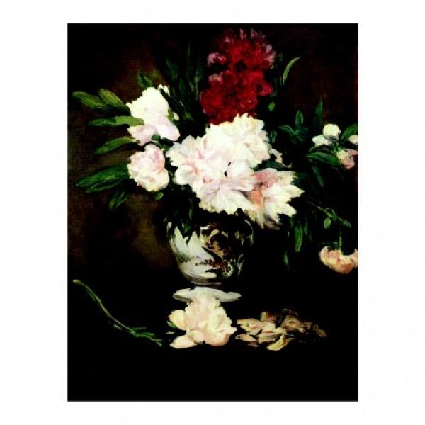 164. Божури. 30х39, эдуард мане,1864