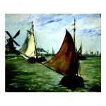167.Эдуард Мане, Голандия,  1872, 49 x 60