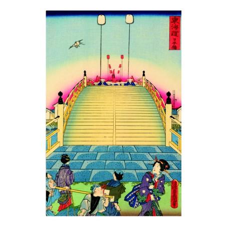 Утагава Кунисада. Принт на картон #196