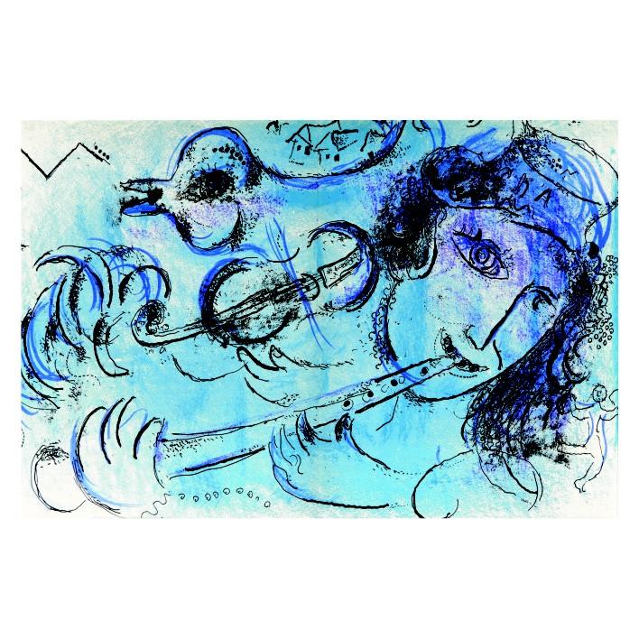 Марк Шагал. Принт на картон #213