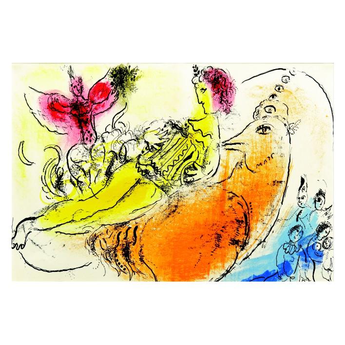 Марк Шагал. Принт на картон #214