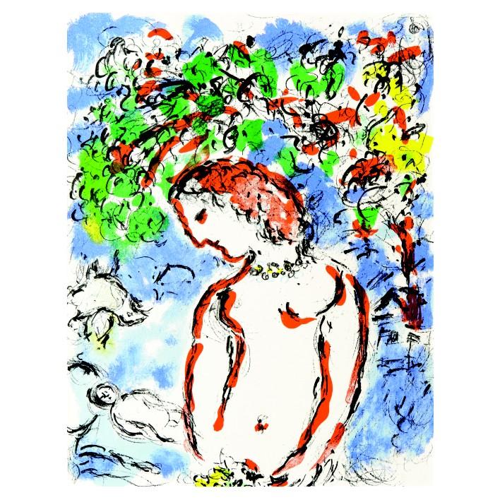 Марк Шагал. Принт на картон #217