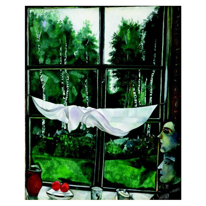 Марк Шагал. Принт на картон #222