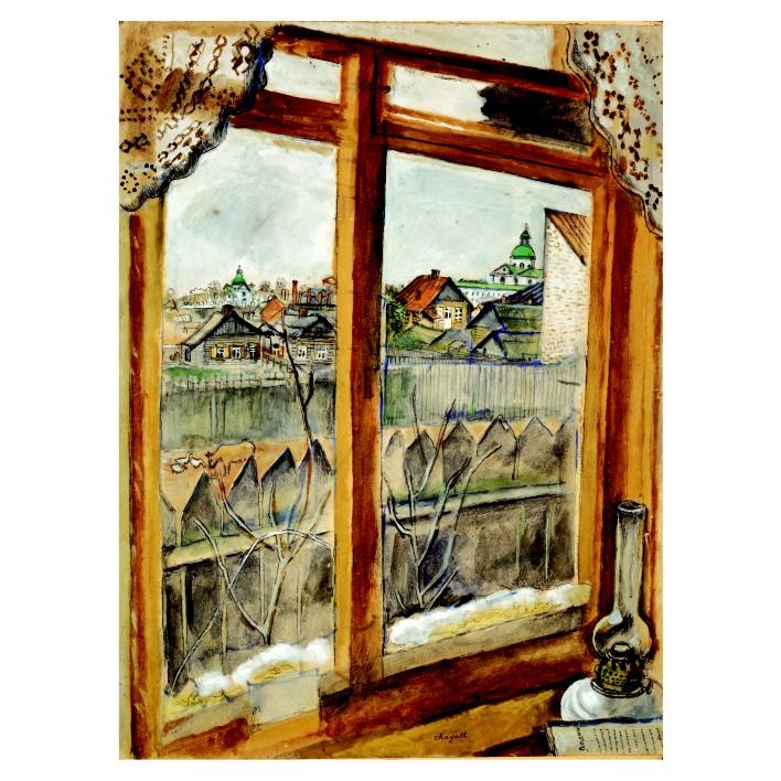 Марк Шагал. Принт на картон #224
