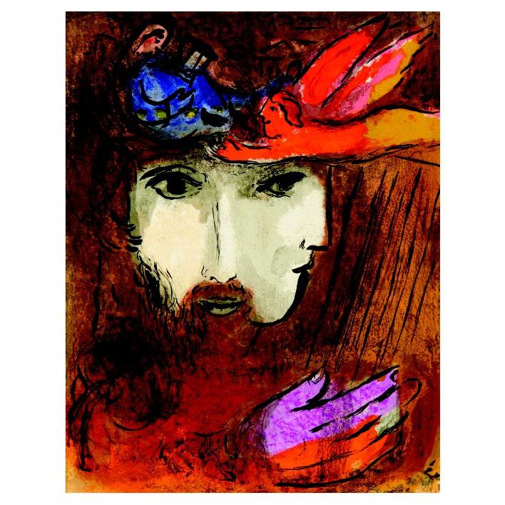 Марк Шагал. Принт на картон #229