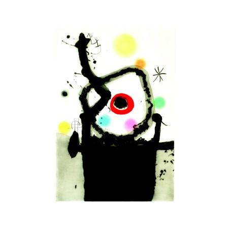 Хуан Миро. Принт на картон #246