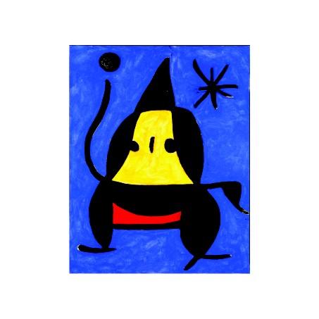 Хуан Миро. Принт на картон #249