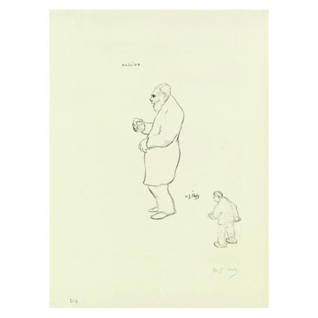 Анри Габриел Ибелс. Принт на картон #53