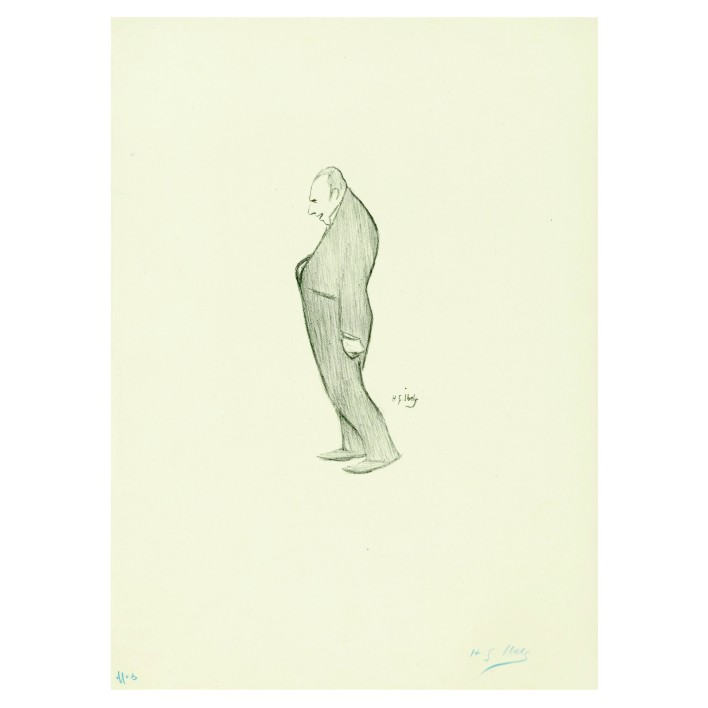 Анри Габриел Ибелс. Принт на картон #57
