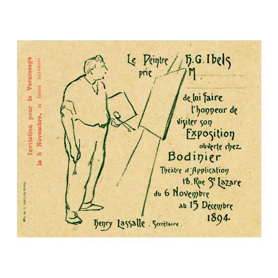 Анри Габриел Ибелс. Принт на картон #61