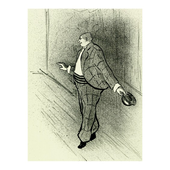 Анри Габриел Ибелс. Принт на картон #63