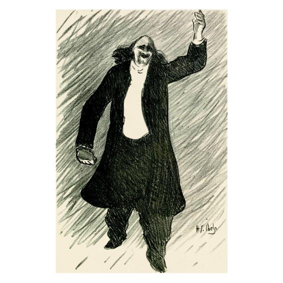 Анри Габриел Ибелс. Принт на картон #64