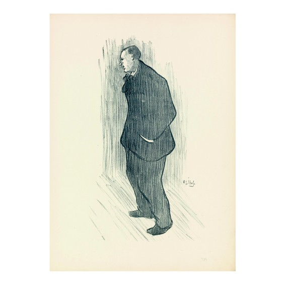 Анри Габриел Ибелс. Принт на картон #65