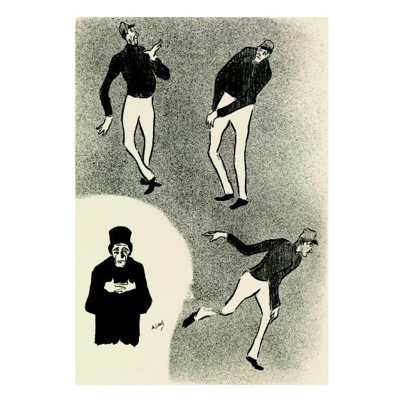 Анри Габриел Ибелс. Принт на картон #67