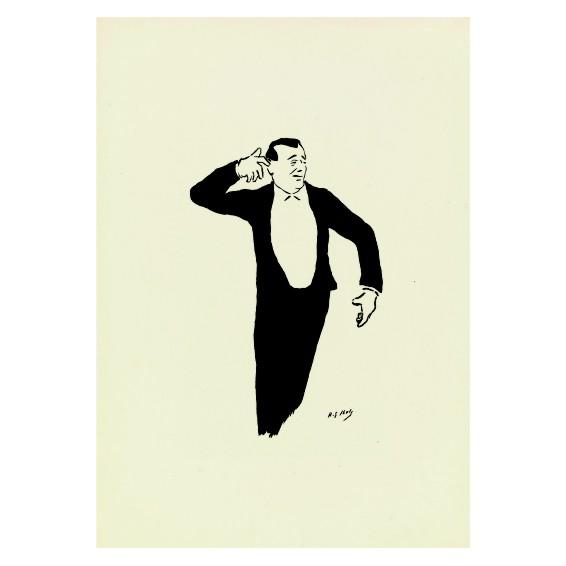Анри Габриел Ибелс. Принт на картон #68