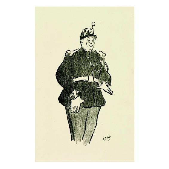 Анри Габриел Ибелс. Принт на картон #70