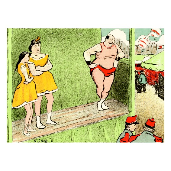 Анри Габриел Ибелс. Принт на картон #71