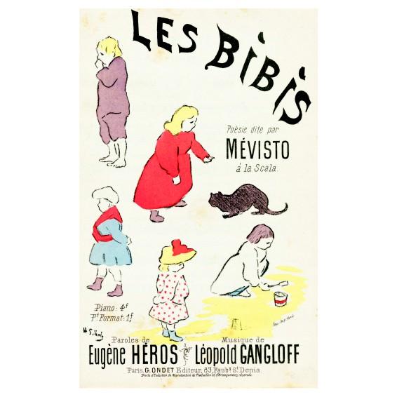 Анри Габриел Ибелс. Принт на картон #83