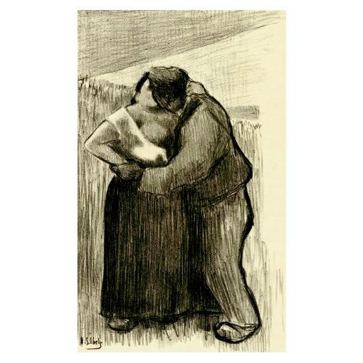 Анри Габриел Ибелс. Принт на картон #94
