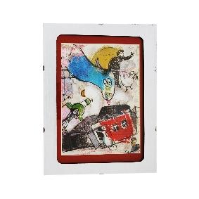 Принт в рамка. Марк Шагал #ан18