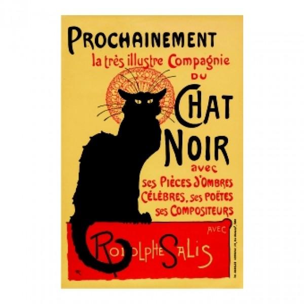 261. Плакат за кабаре Черна котка 1896