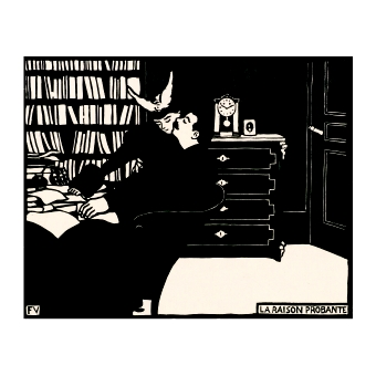 Феликс Валотон. Принт на картон #268