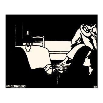 Феликс Валотон. Принт на картон #270