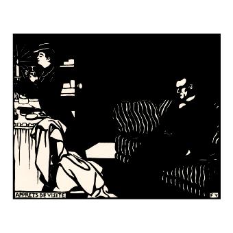 Феликс Валотон. Принт на картон #271