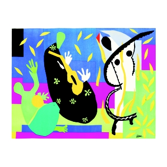 Анри Матис. Принт на картон #300