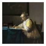 342. Момиче пише писмо 1665