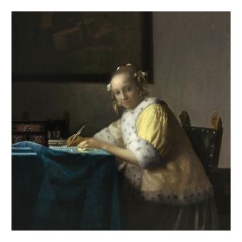 Йоханес Вермер. Принт на картон #342