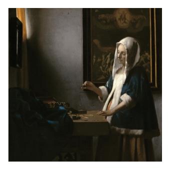 Йоханес Вермер. Принт на картон #343