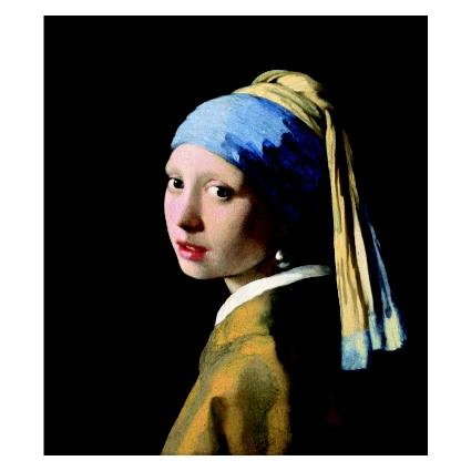 Йоханес Вермер. Принт на картон #344