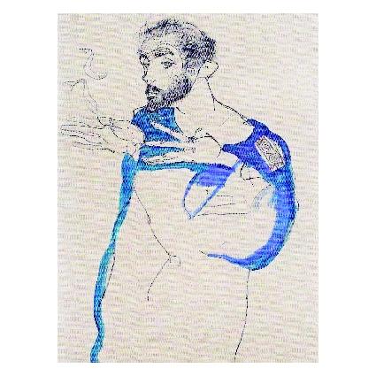 Егон Шиле. Принт на картон #250