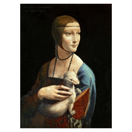 Леонардо да Винчи. Принт на картон #368