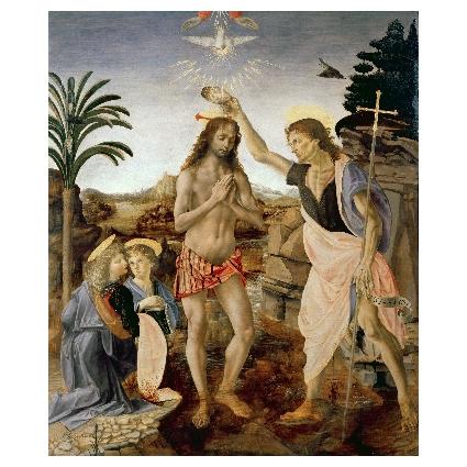 Леонардо да Винчи. Принт на картон #369